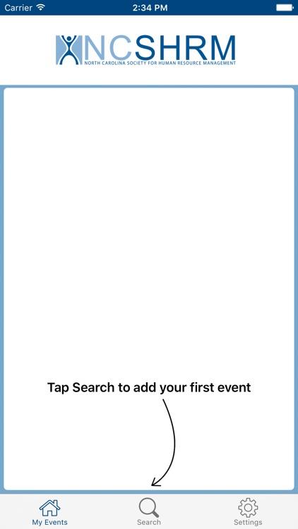 NCSHRM Events