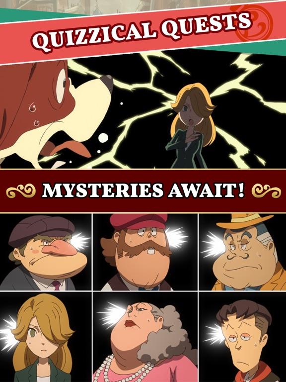 Screenshot #4 for Layton's Mystery Journey