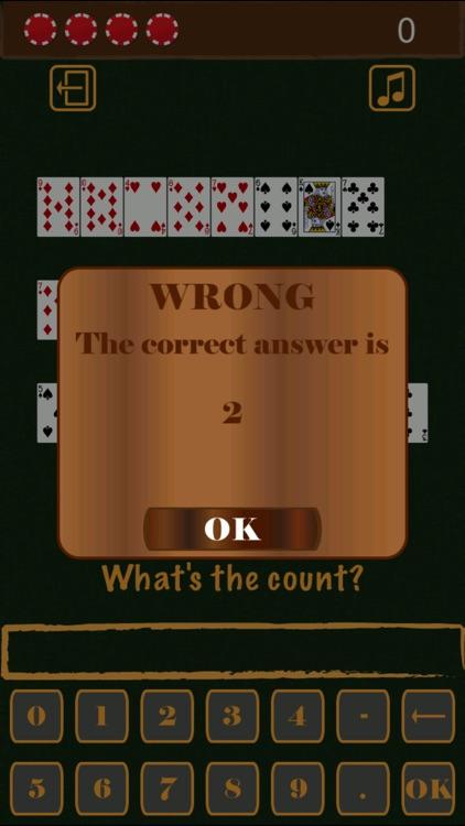 Blackjack Card Counting Practice screenshot-4