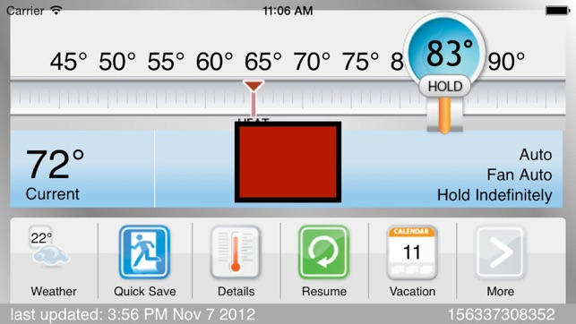 Carrier Wi-Fi Thermostat on the App Store