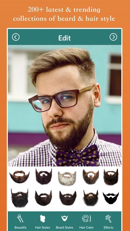 Beard Style Photo Editor screenshot-4