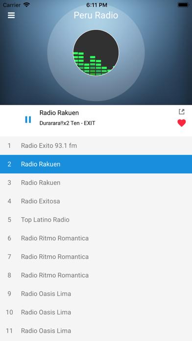 Peru Radio Station Peruvian FM screenshot two