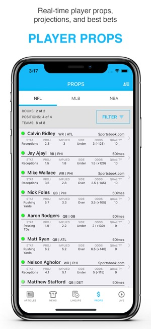 FantasyLabs DFS Lineup Builder on the App Store