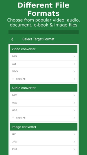 File Converter - By Online-Convert com on the App Store