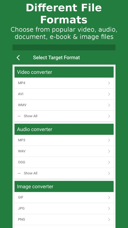 File Converter - By Online-Convert.com screenshot-1