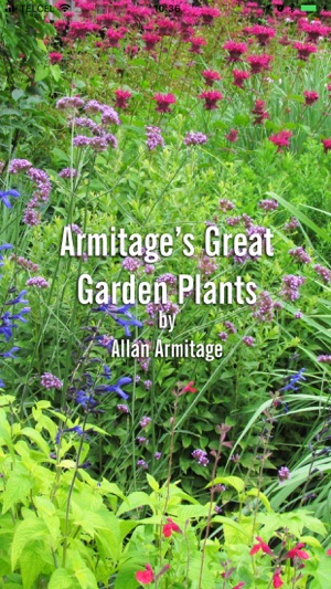 Armitage\'s Great Garden Plants on the App Store