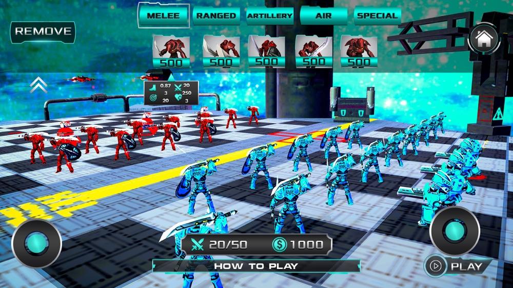 Futuristic Battle Simulator hack tool