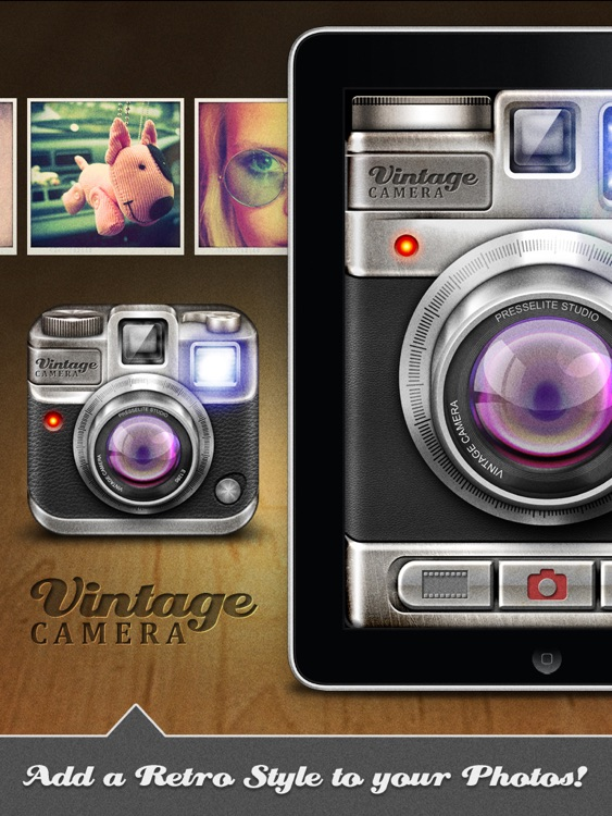 Vintage Camera for iPad