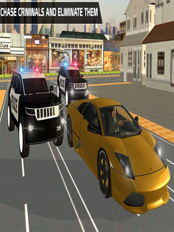 ATM Bank Robbery; Police Squad-ipad-0
