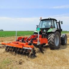 Activities of Real Farming Tractor Simulator Harvesting Season