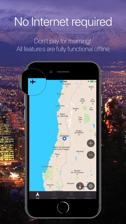 Chile Offline Navigation screenshot-0