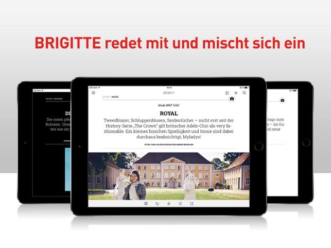 Brigitte Probeabo brigitte das frauenmagazin on the app store