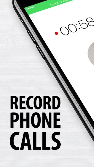 Call Recorder for iPhone. app image