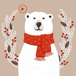 Animated Polar Bear Stickers!