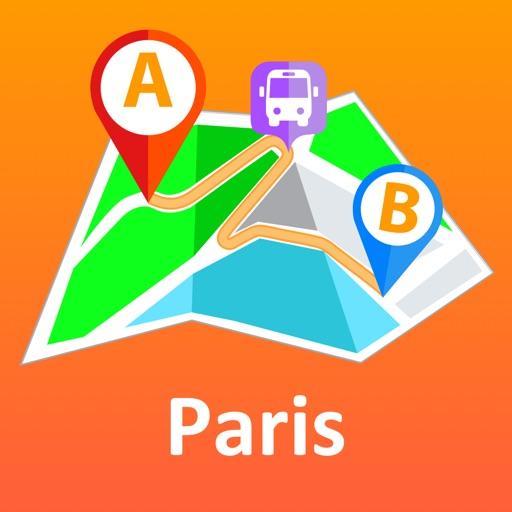 Paris offline map & nav
