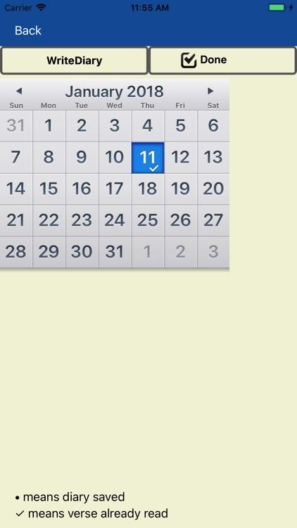 Bible+Diary Lite screenshot-4
