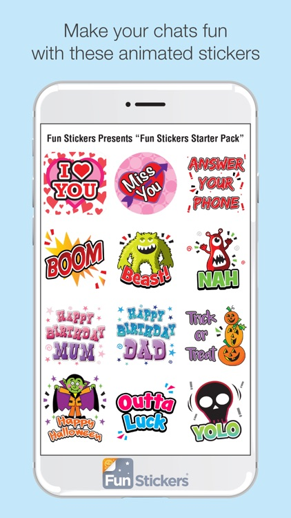 Fun Stickers Starter Pack screenshot-1