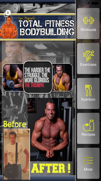 Total Fitness PRO. A fantastic tool for checking and planning gym routines.. Total Fitness is a perfect app for those who want to take going to the gym a little bit more seriously.