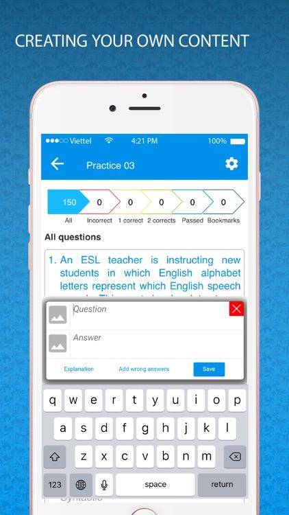 TExES Practice test screenshot-4