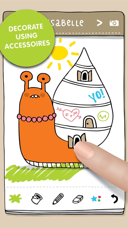 Damki Town Kids Coloring Book screenshot-3