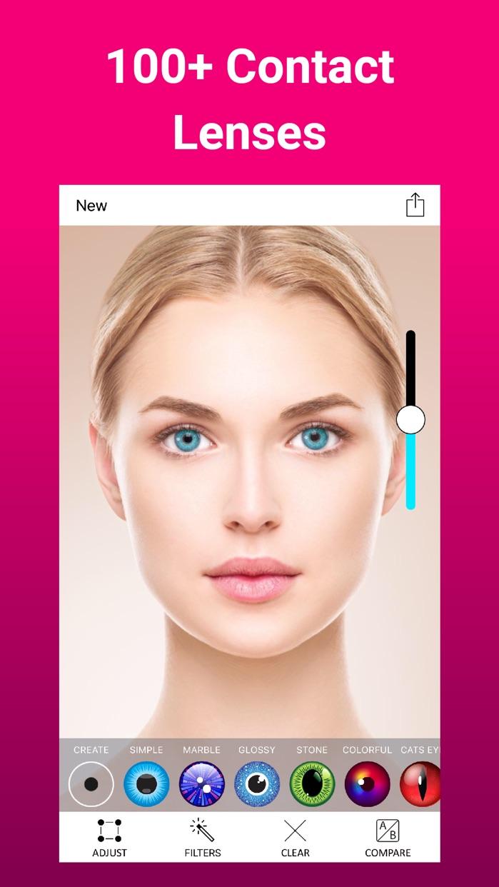 Eye Color Changer Makeup Screenshot