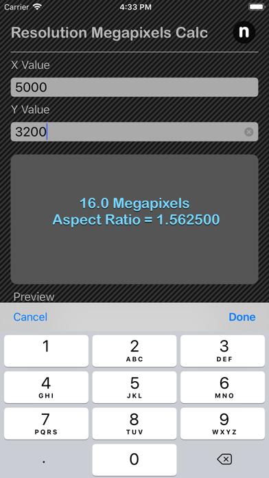 点击获取Resolution Megapixels Calc