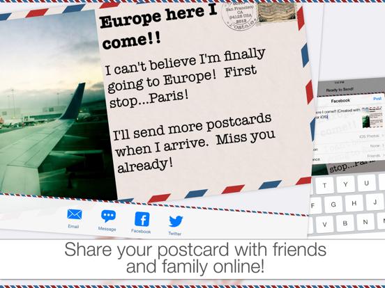 Postale screenshot
