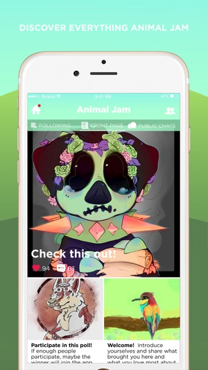 Jamaa Amino for Animal Jam on the App Store
