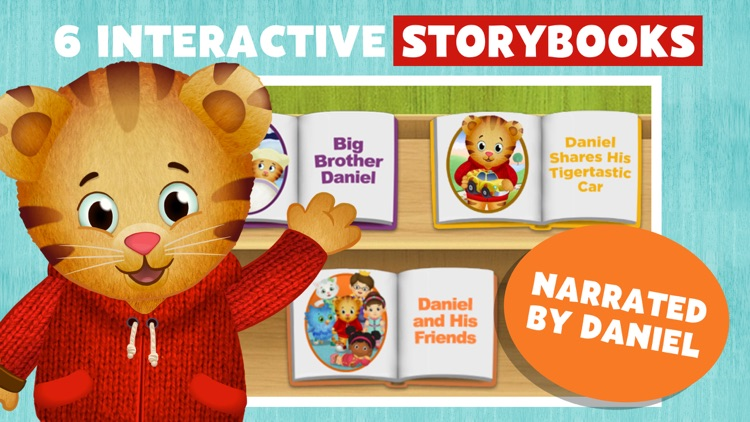 Daniel Tiger's Storybooks screenshot-0