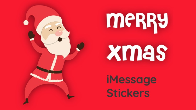Merry Christmas Sticker & Gift