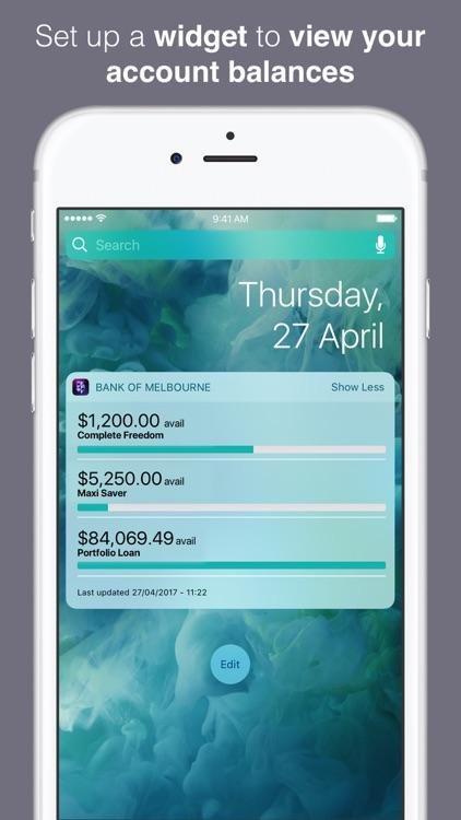 Bank of Melbourne Banking screenshot-4