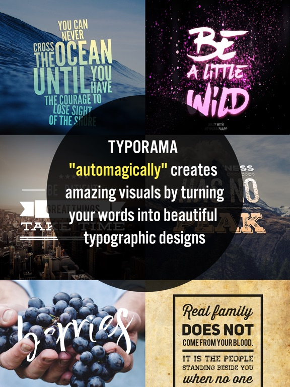 Typorama: Text on Photo Editor Screenshots