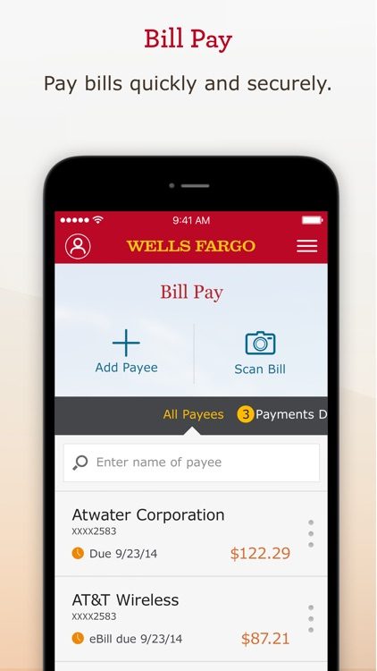 Wells Fargo Mobile screenshot-9