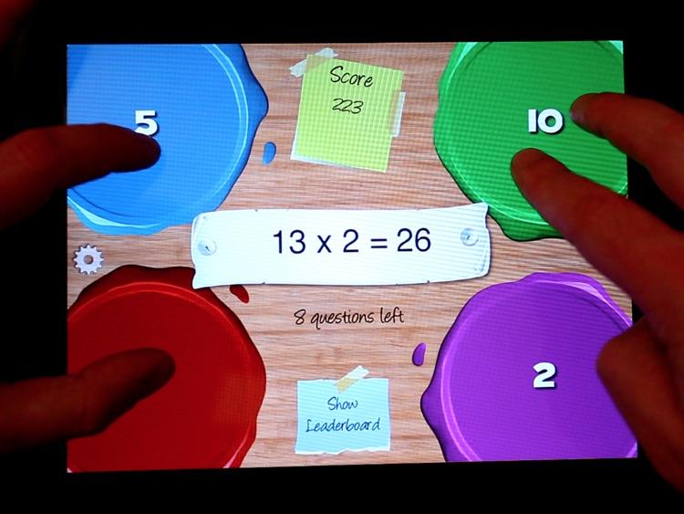 Multi-Touch Mathematics