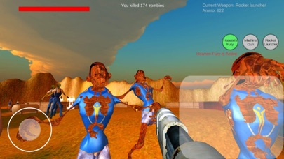 Endless Zombie shooter screenshot one