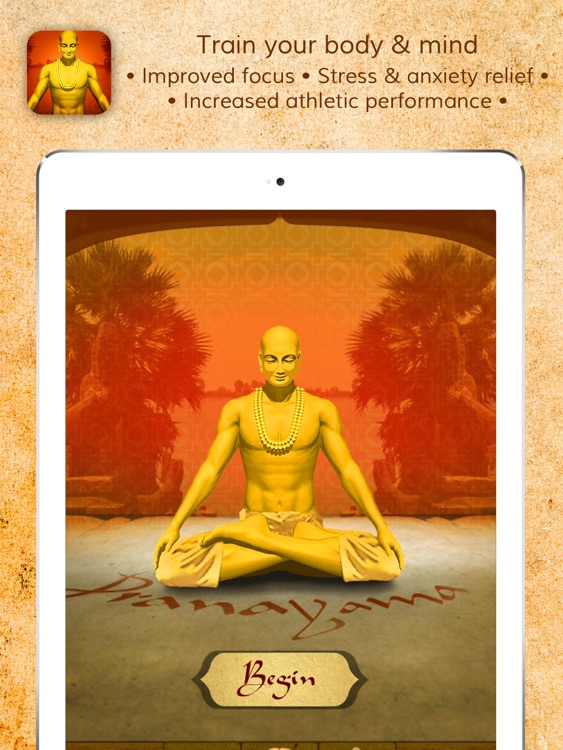 Health through Breath: Pranayama Lite for the iPad screenshot-0