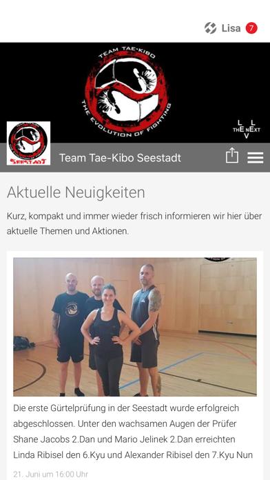 Team Tae-Kibo Seestadt screenshot 1