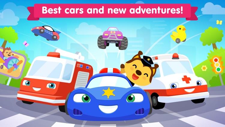 Car games for kids 3 years old screenshot-0