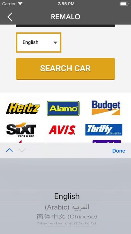 Remalo.com Car Rental App screenshot-3
