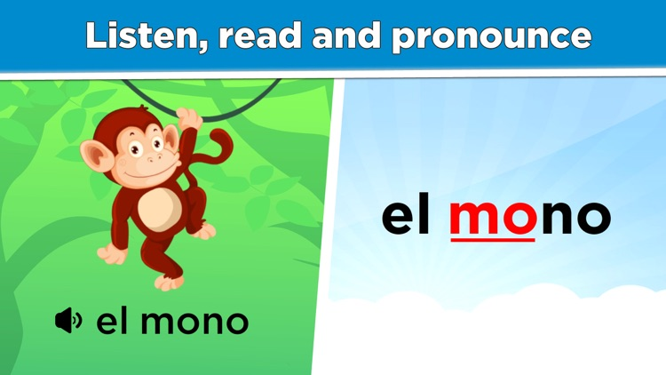 Learn Spanish lessons for kids