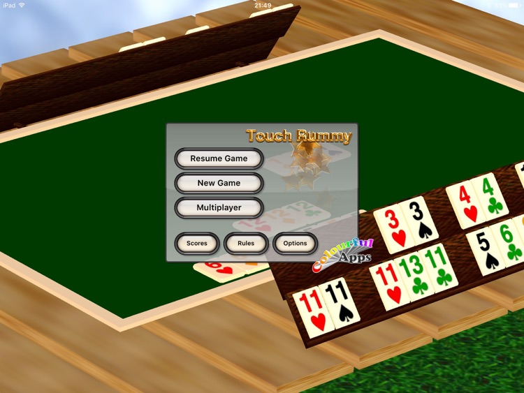 Touch Rummy HD