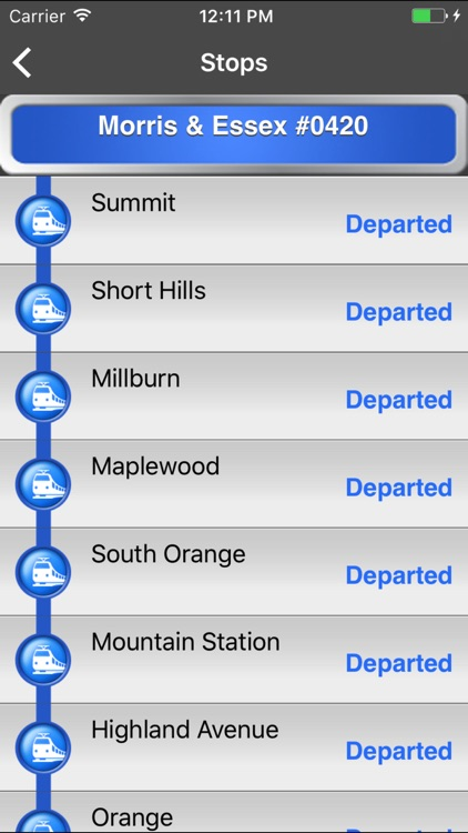 onTime NJT screenshot-2