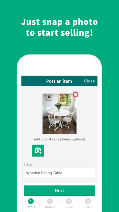 Screenshot 2 for OfferUp's iPhone app'