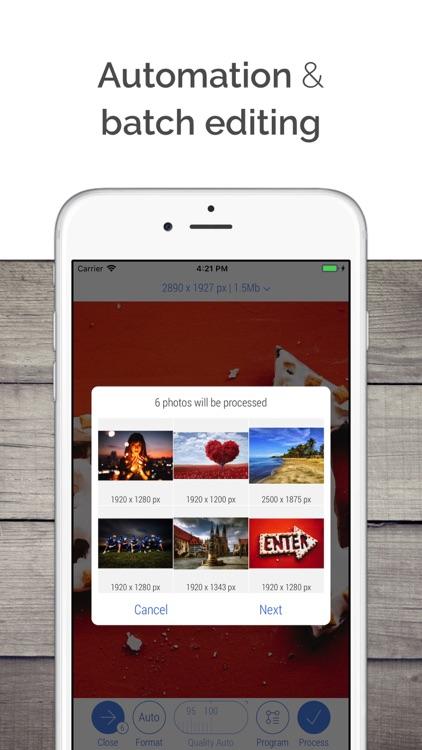 CropSize: Photo Resizer Editor screenshot-4