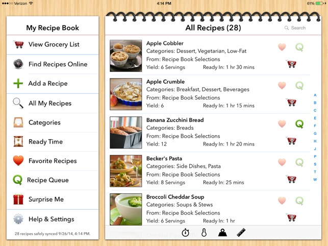 All your recipes, all in one place