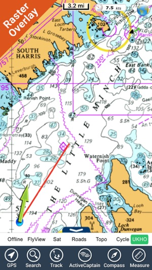 Marine hebrides hd gps map navigator en app store capturas de pantalla gumiabroncs Images