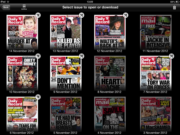 Daily Record Newspaper App