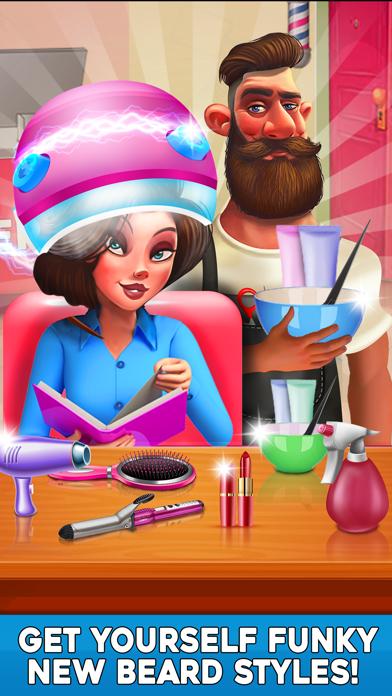 Virtual Stylist Hair Cut Game-2