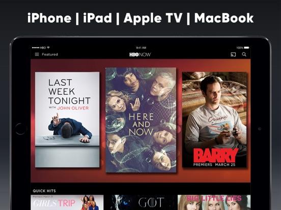 HBO NOW: Stream TV & Movies iPad