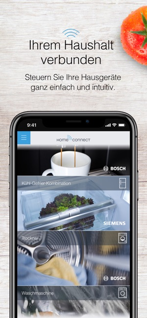 Home Connect App Im App Store